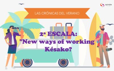 """Las cronicas del verano 2ª escala: """"New ways of working"""" Késako?"""