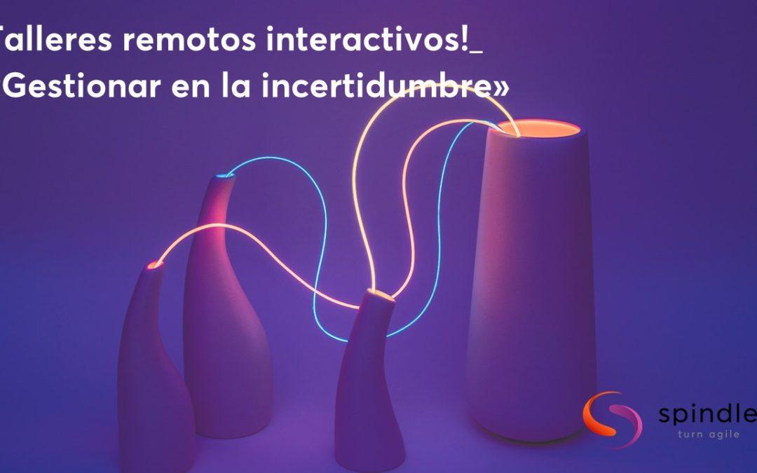 ¡Descrubre nuestros talleres remotos interactivos!